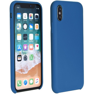 Apple iPhone 11 Pro Max, TPU szilikon tok, Forcell Silicone, sötétkék