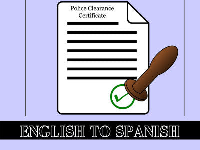English-to-spanish-certified-translation-of-police-clearance-certificate