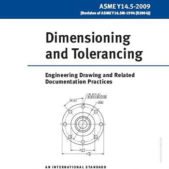 front cover of ASME Y14.5-2009
