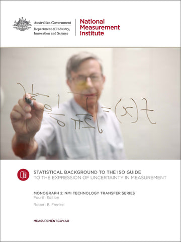 Monograph 2 Statistical Background to the ISO Guide to the Expression of Uncertainty in Measurement