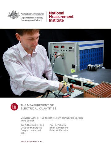 Monograph 6 The Measurement of Electrical Quantities