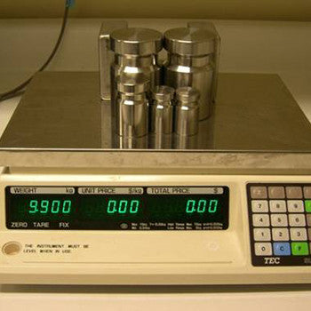 non-automatic weighing instrument