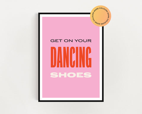 Arctic Monkeys 'Dancing Shoes' Print