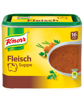 -in USA- Knorr Meat soup broth - 16 L