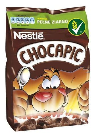 -in USA- Nestle Chocapic whole grain chocolate cereal-250g