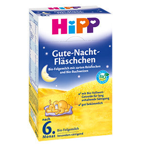 -in USA- HiPP Good Night Bottle - organic baby night meal - 6th month on