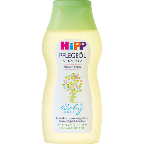 -in USA-HiPP Baby Sensitive Oil-Organic-200ml