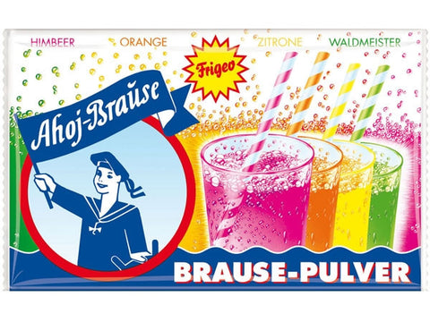 -in USA-Frigeo-Ahoj-Brause Pulver-10 sachets-