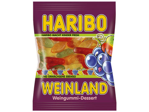 -in USA- HARIBO Weinland - Made with WINE - 200 g