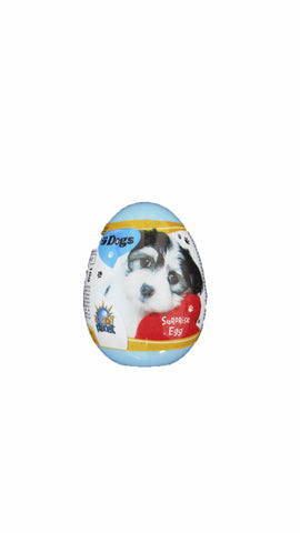 -in USA- Dog surprise egg with toy-1ct.-
