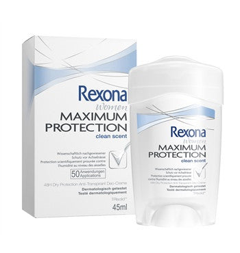 -in USA-Rexona Women Deodorant Clean Scent Maximum Protection