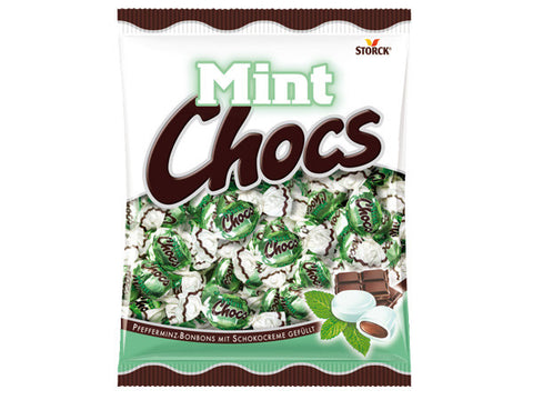 -in USA-Storck Mint Chocs peppermint candy- 425 g
