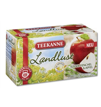 -in USA- Teekanne Sweet Fennel & Apple Tea- Pack of 3