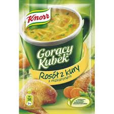 -in USA- Knorr Goracy Kubek Chicken Broth with noodles- 5 Pack