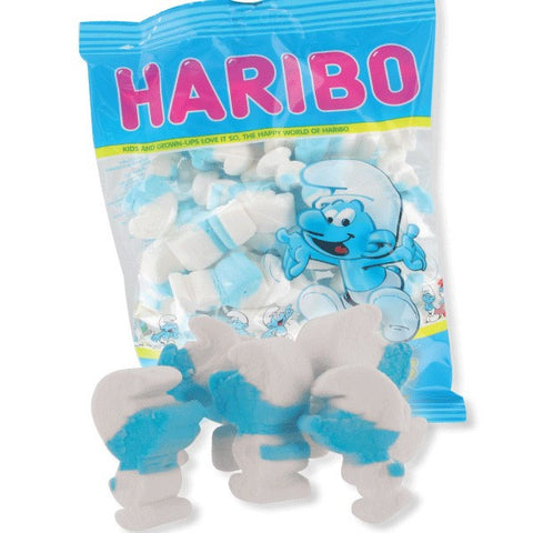 -in USA- HARIBO Chamallows Smurfs -marshmallows - 175 g- GLUTEN FREE