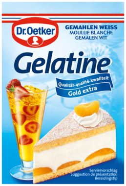 Dr.Oetker White Ground Gelatin packets