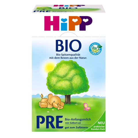 -in USA-HiPP Organic PRE Infant Baby Formula - newborns and older -
