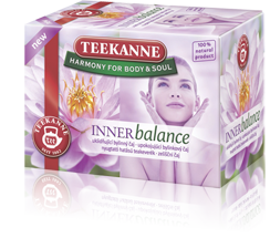 -in USA- Teekanne Inner Balance herbal tea- Pack of 3