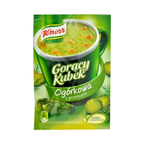 -in USA- Knorr Goracy Kubek pickle soup -pack of 5