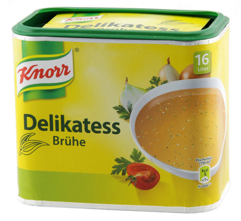 -in USA- Knorr Delikatess Bruhe- Delicacy broth in a can - for 16 L