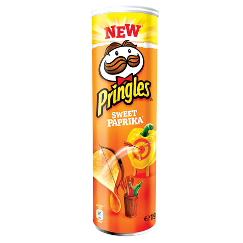 -in USA-Pringles Sweet Paprika-Sweet pepper- potato chips-190g