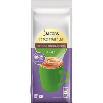 -in USA- Jacobs Momente Choco Cappuccino Nut with touch of Milka chocolate- 400g
