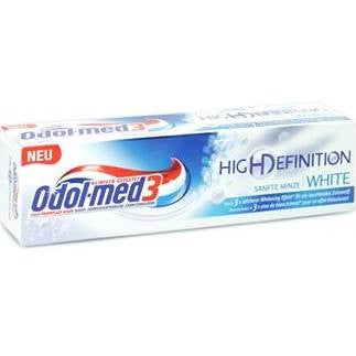 -in USA- Odol-Med 3 High Definition - Whitening Toothpaste -