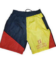 Load image into Gallery viewer, LO Sport Yellow Flame shorts
