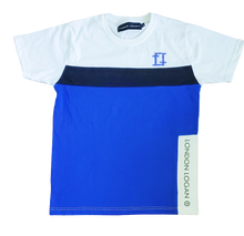 Load image into Gallery viewer, LO Sport Tee Royal/ White