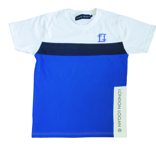 LO Sport Tee Royal/ White