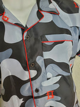 Load image into Gallery viewer, Infrared Black Camouflage Shirt