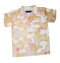 Load image into Gallery viewer, Creme Camouflage Shirt