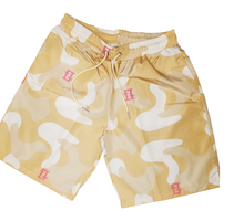Load image into Gallery viewer, Creme Camouflage Shorts