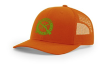 Load image into Gallery viewer, KILLSHOT Life Structured Trucker - High Vis Orange