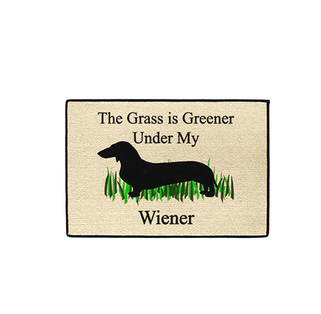 doormat - the grass is greener