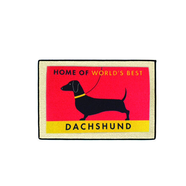 doormat - world's best dachshund  OUT OF STOCK