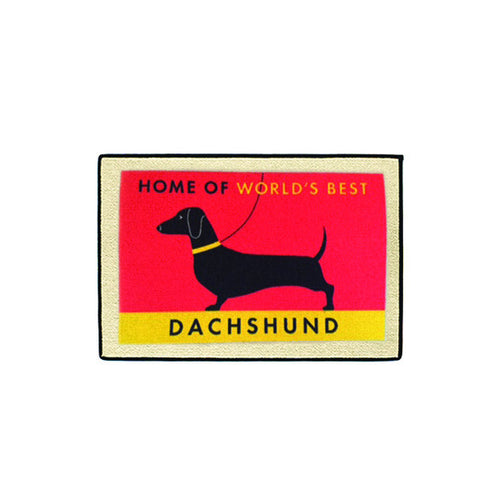 doormat - world's best dachshund