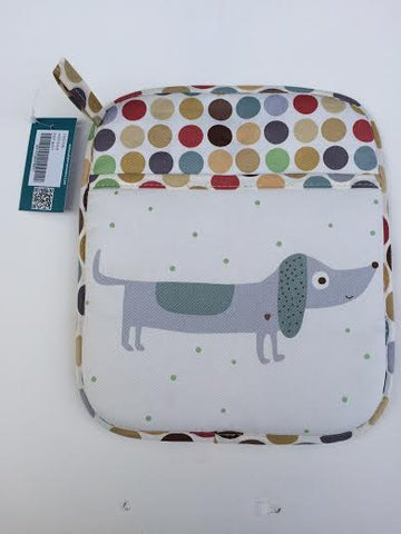 kitchen dachshund potholder