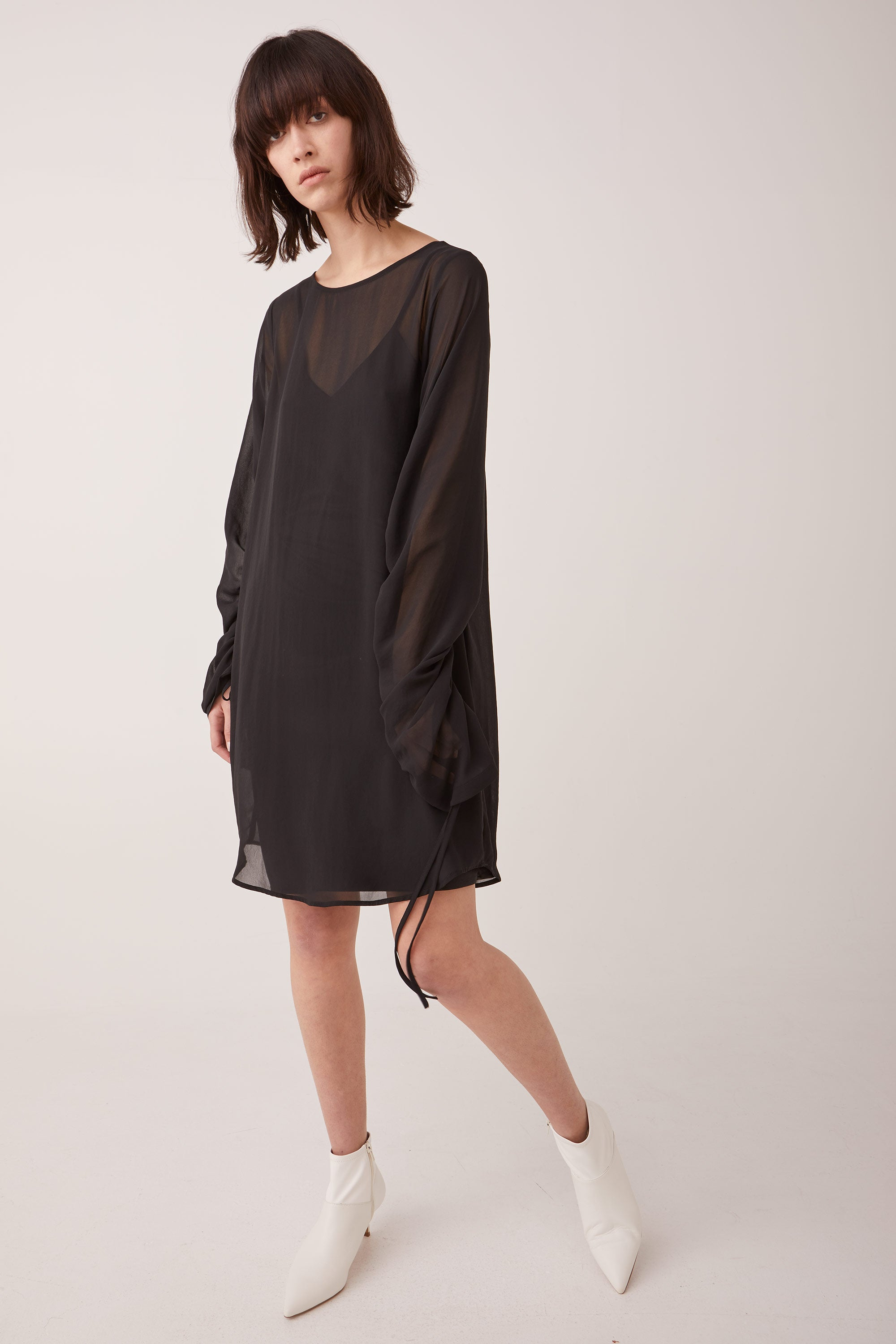 Ricochet NZ Fashion Designer Clothing Boutique AW19 Empty Dress Made in NZ
