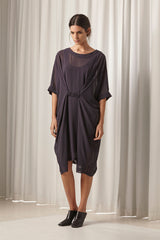 Ricochet NZ Fashion Designer Clothing AW18 Fuller Dress Chiffon Made in NZ