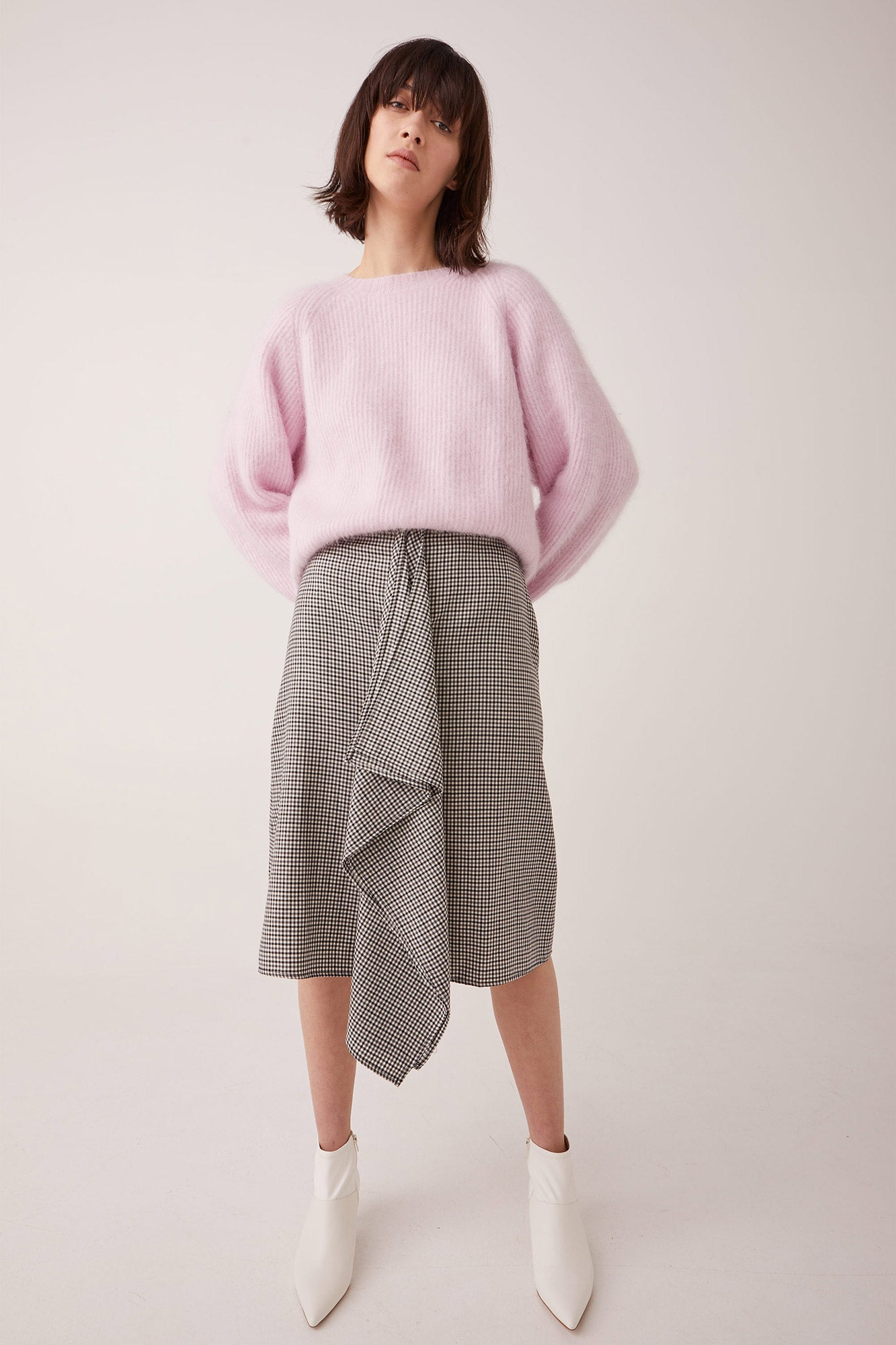 Ricochet NZ Fashion Designer Clothing Boutique AW19 Mollie Skirt Made in NZ