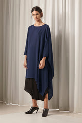 Ricochet NZ Fashion Designer Clothing AW18 Keaton Dress Asymmetrical One Sleeve Made in NZ