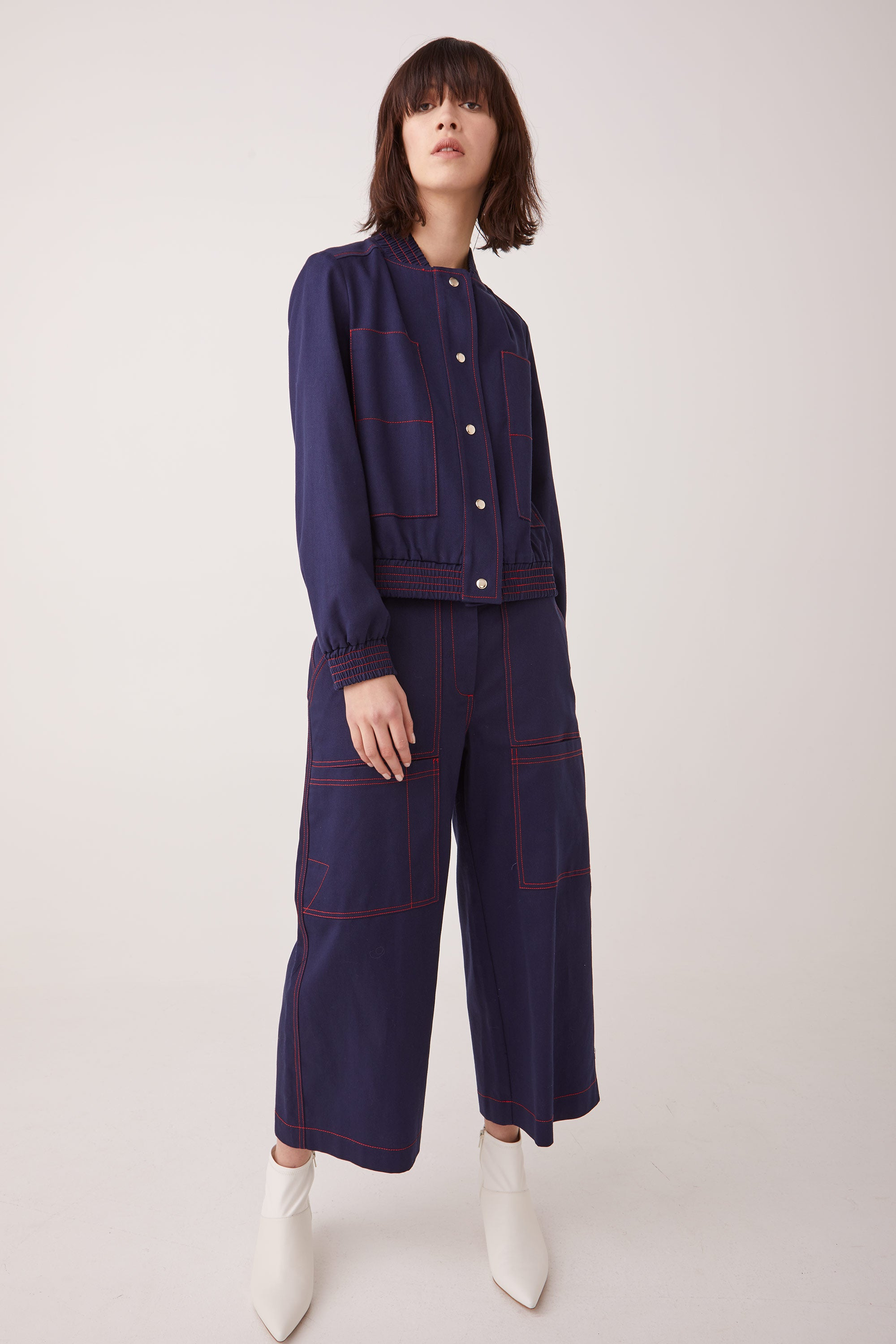 Ricochet NZ Fashion Designer Clothing Boutique AW19 Matsudo Pant Jean Made in NZ