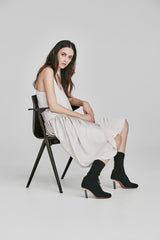 Ricochet NZ Fashion Clothing AW17 Shoestring Mille Dress Asymmetrical Ruffle