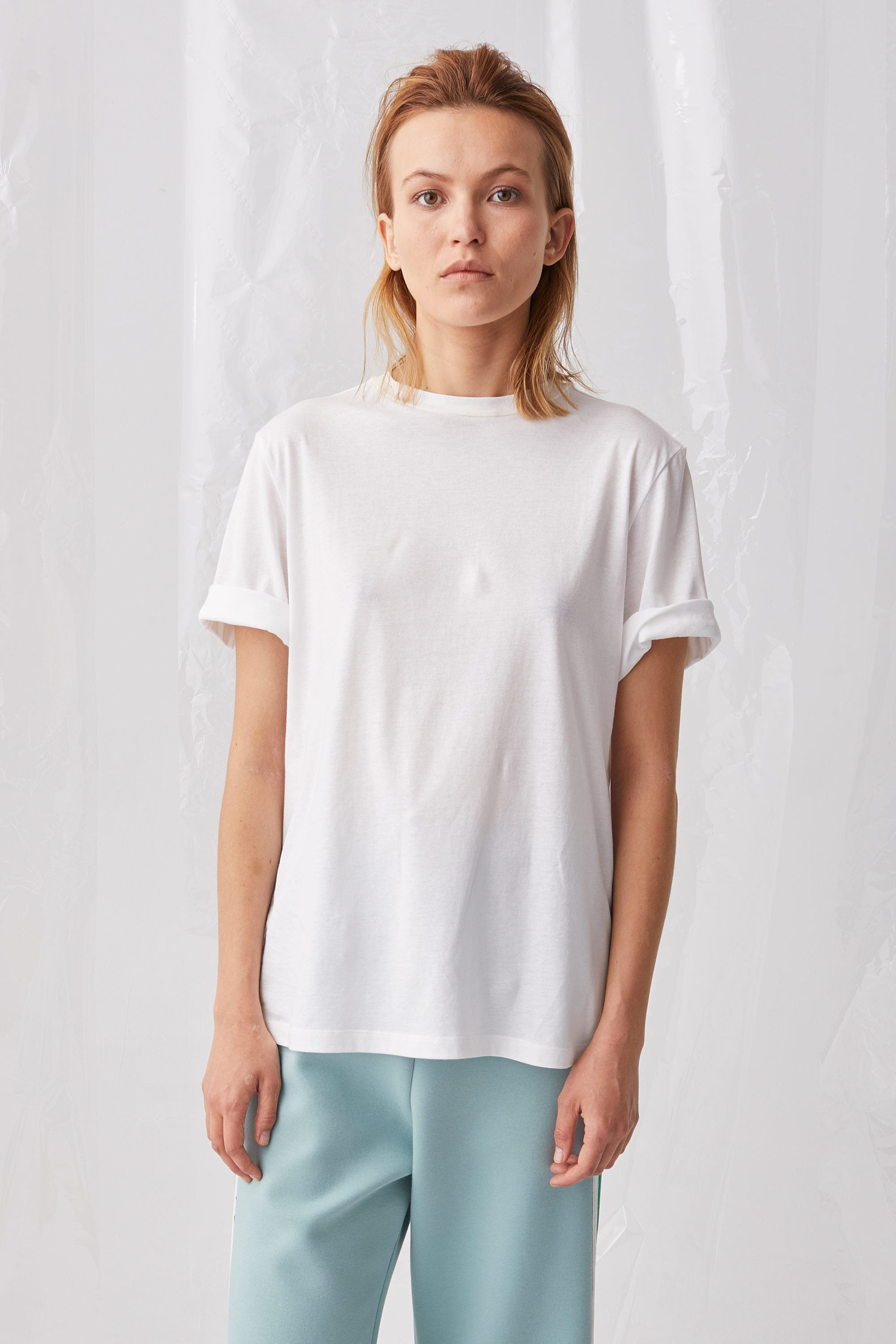 Ricochet NZ Fashion Designer Clothing Boutique SS18 Airi Tee Shirt White Cotton Made in NZ