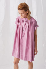 Ricochet NZ Fashion Designer Clothing Boutique SS18  Akashi Dress Made Washed Cotton Shirtdress in NZ