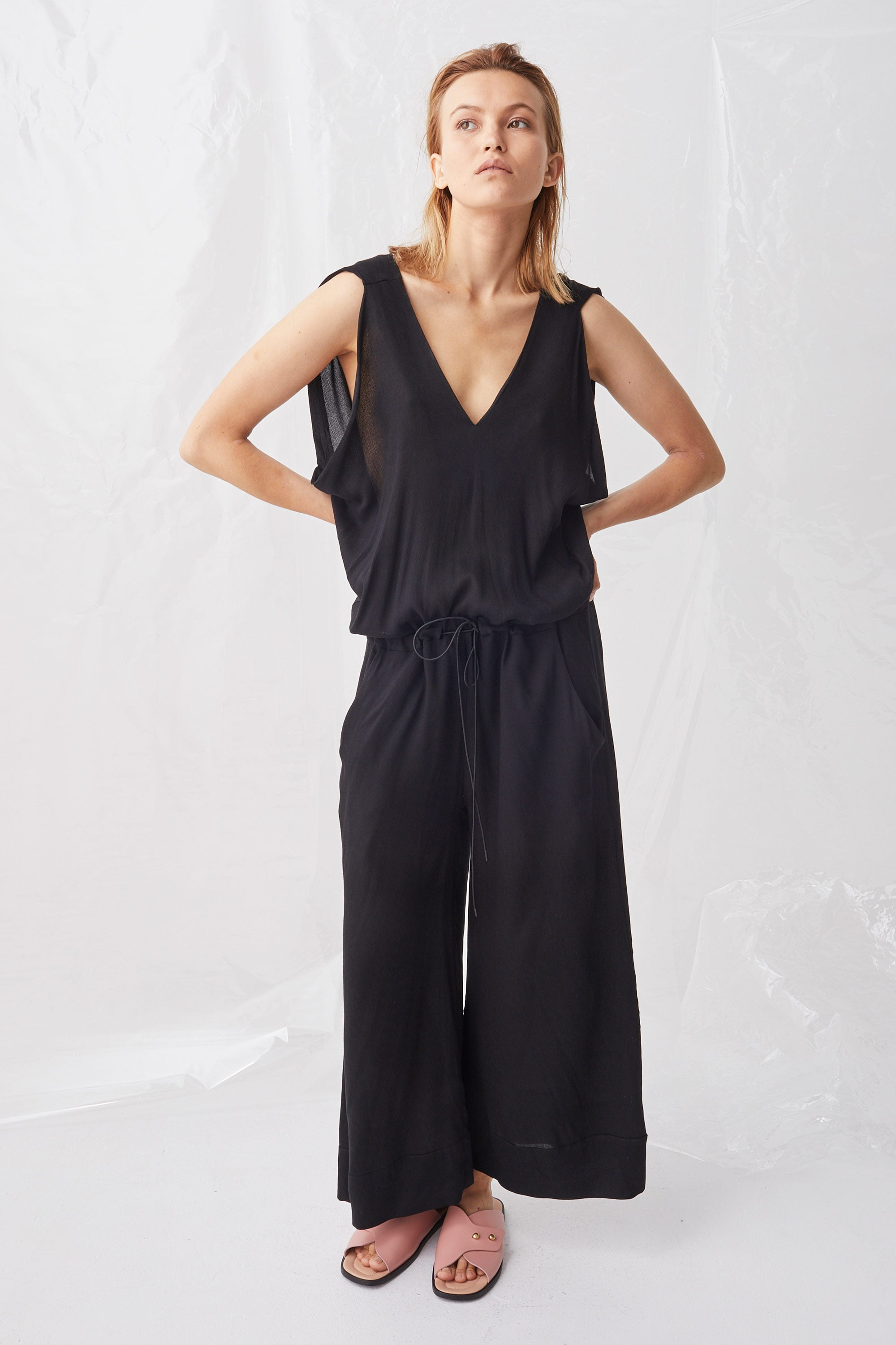 Ricochet NZ Fashion Designer Clothing Boutique SS18 Joben Jumpsuit Made in NZ