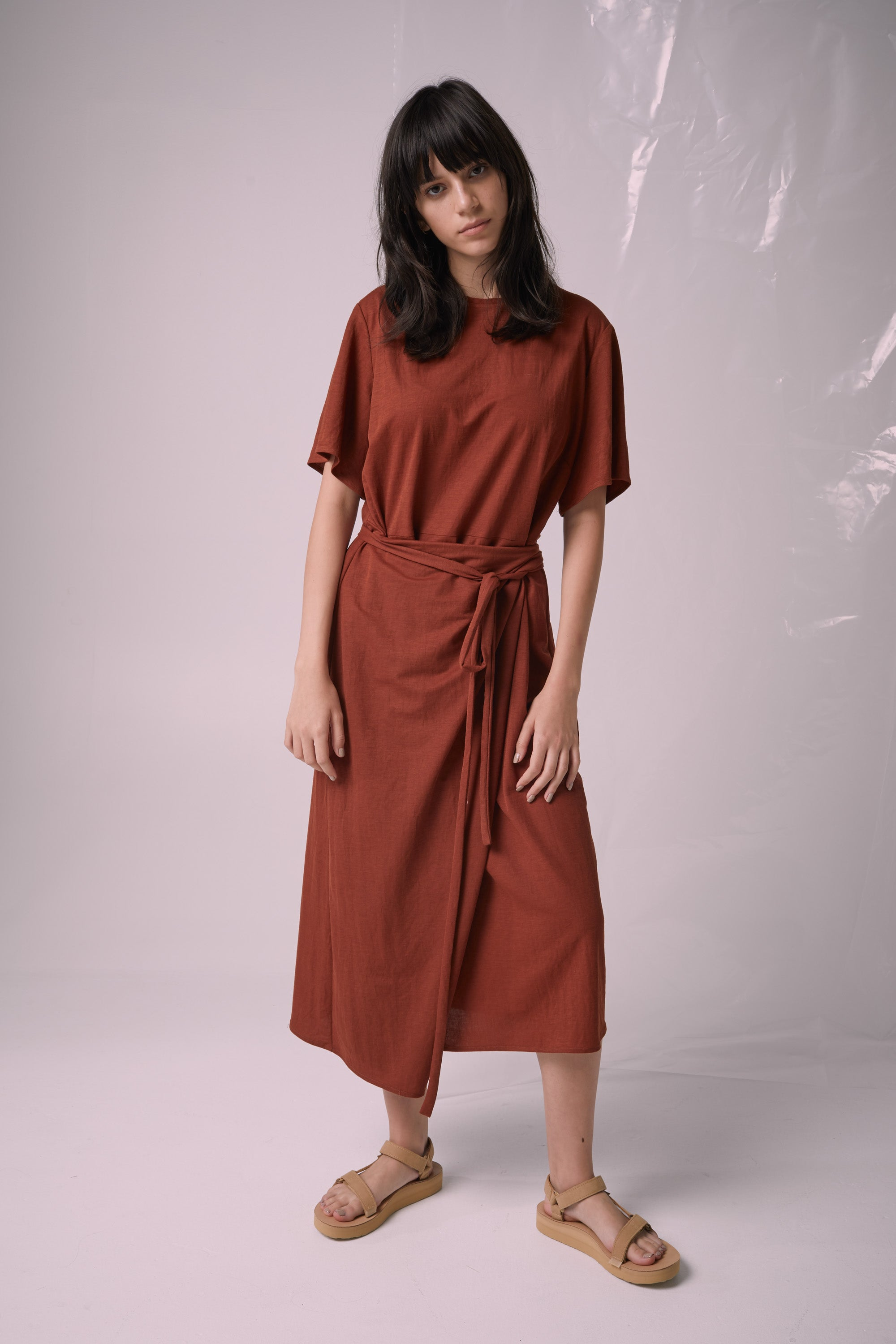 Ricochet NZ Fashion Designer Clothing Boutique SS19  Made in NZ Jil Dress Sienna