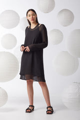 Ricochet NZ Fashion Designer Clothing Boutique AW20  Made in NZ  RD10474 Double Trouble Dress