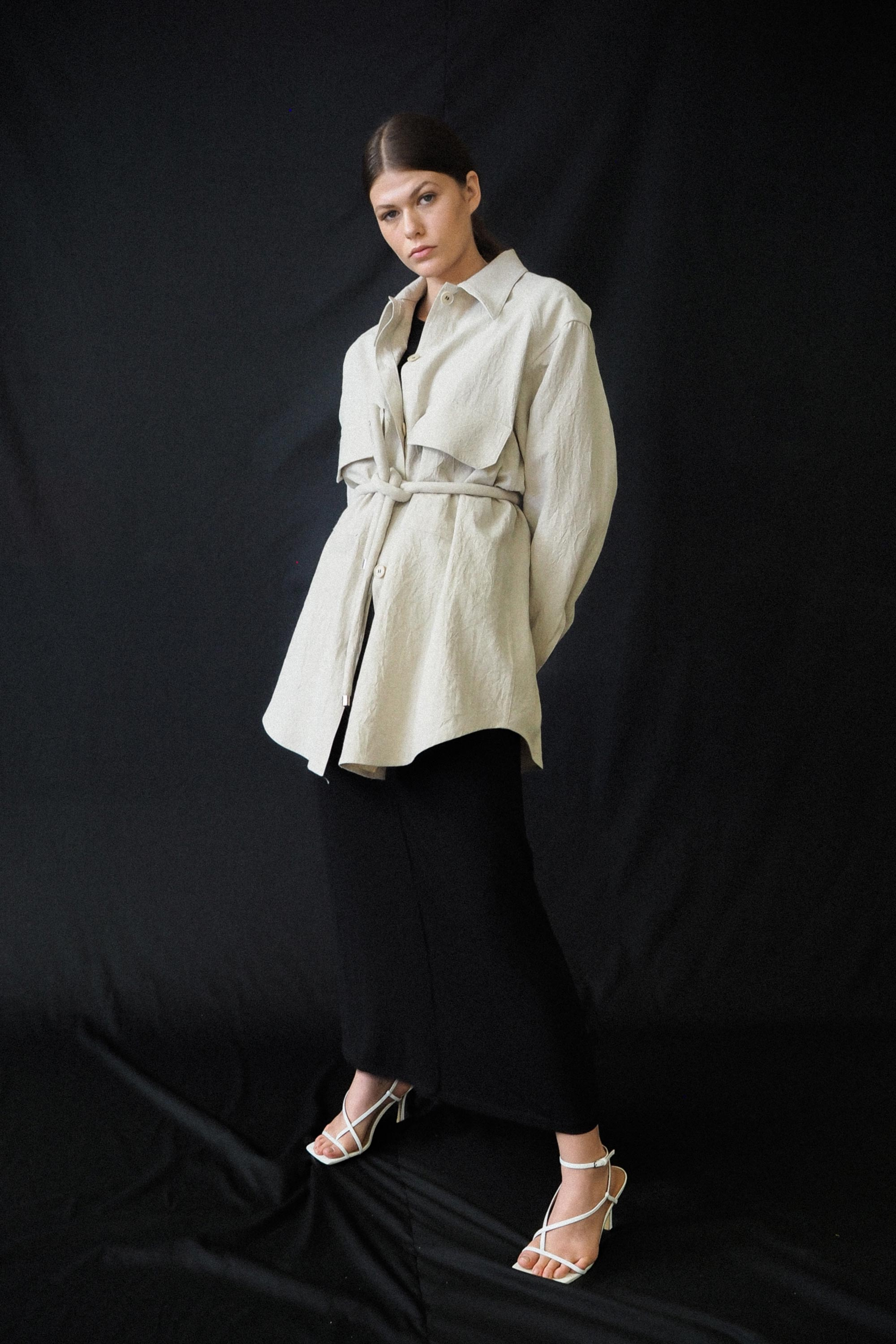 Field Shirt Ricochet SS20 Collection NZ Sustainable Fashion Design